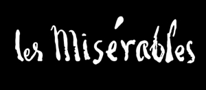 The title card for 'Les Misérables'