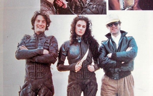 Kyle MacLachlan, Sean Young, and David Lynch; Dune (1984)