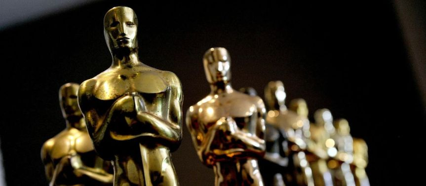 The Oscar statuette for the Academy Awards