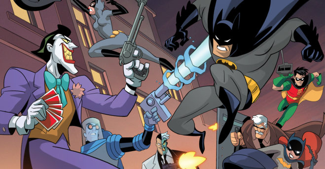 New board game expansion based upon Batman: The Animated Series will be backed bycrowdfunding