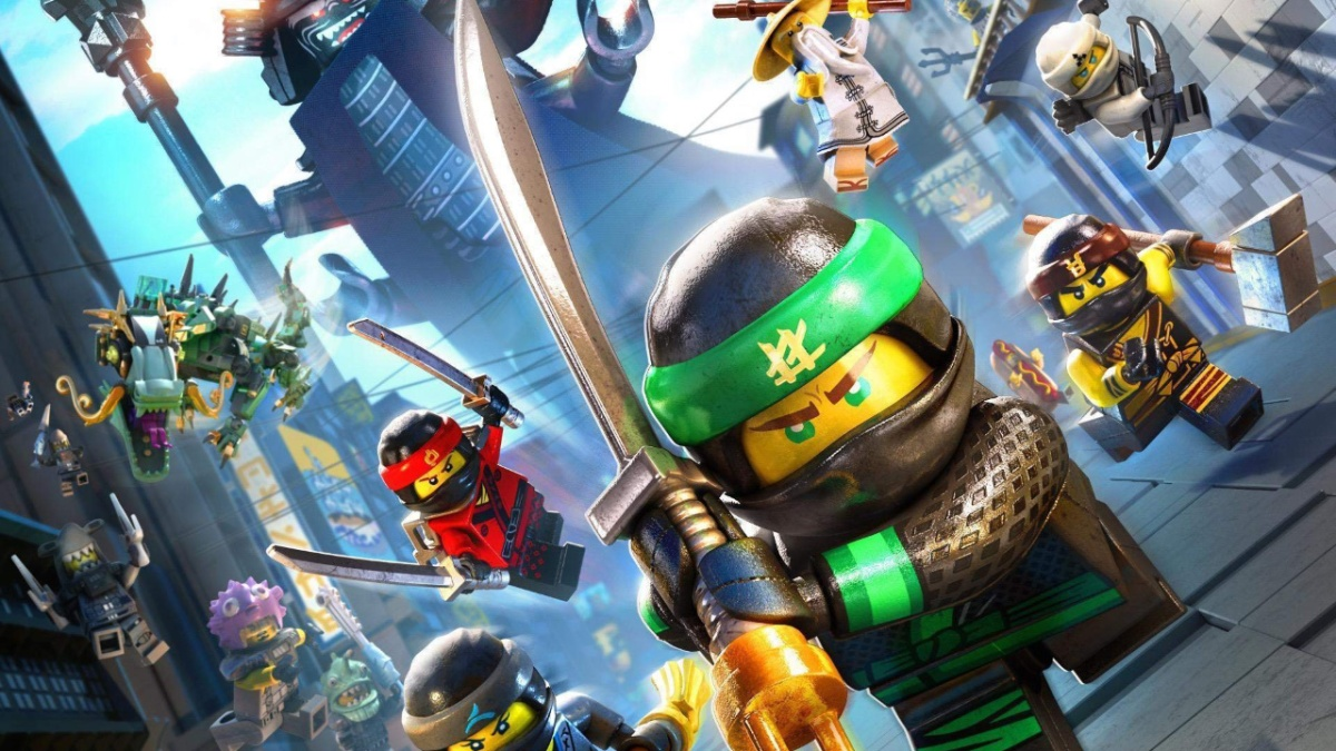 The Lego Ninjago Movie (2017) directed by Charlie Bean, Paul Fisher, and Bob Logan.
