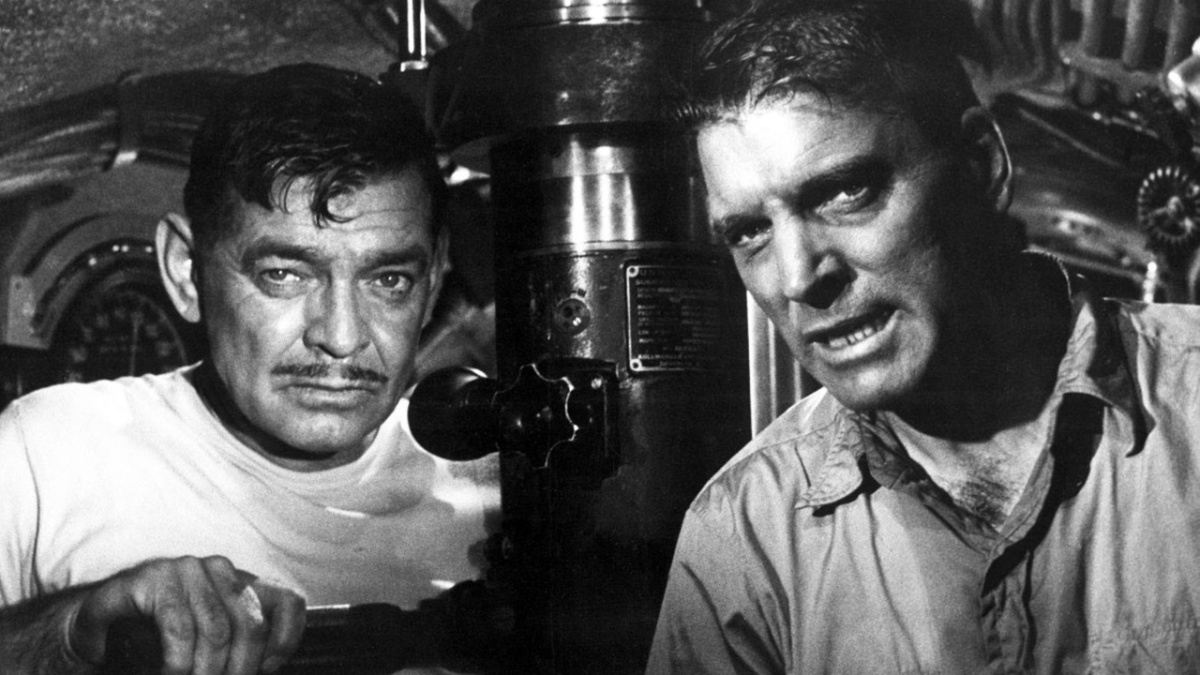 Run Silent, Run Deep (1958) is directed by Robert Wise, starring Clark Gable and Burt Lancaster.