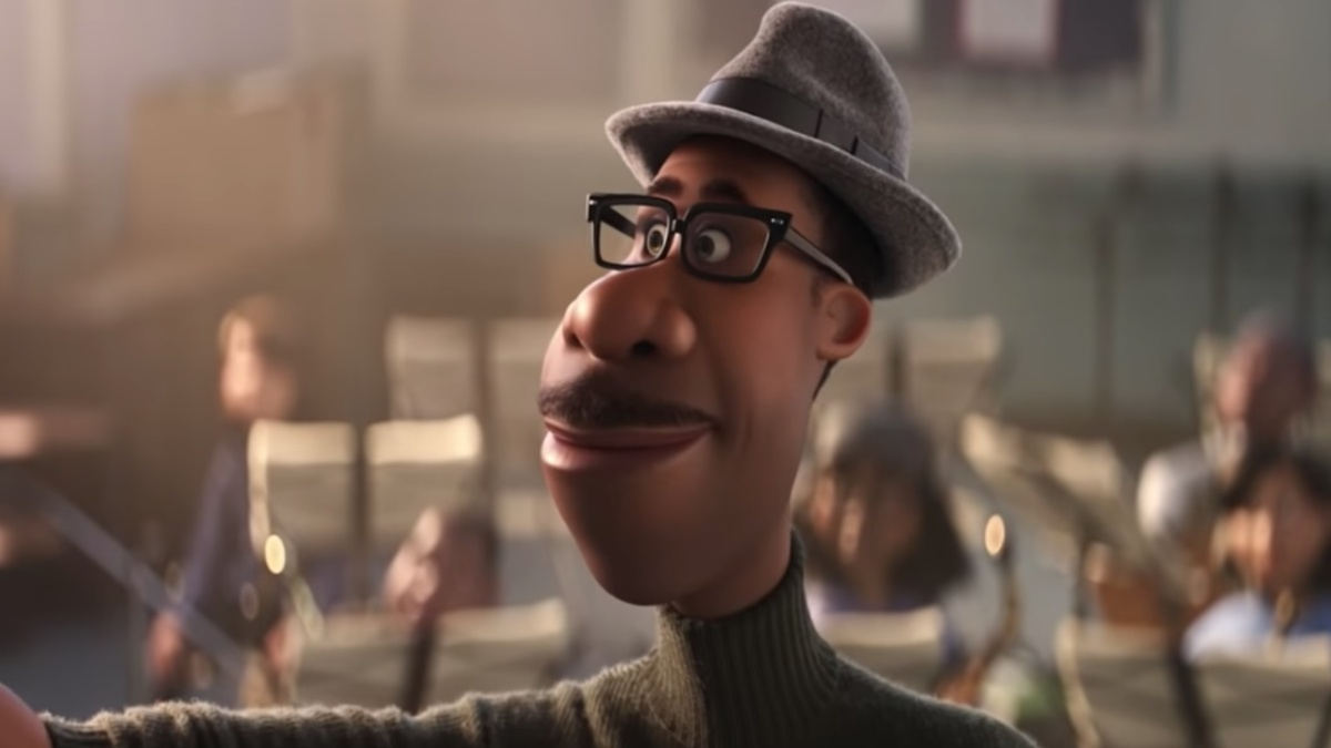 Soul (2020) is directed by Pete Docter and Kemp Powers, starring Jamie Foxx.