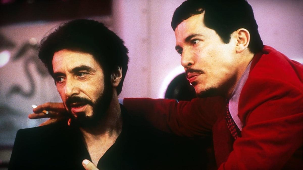 Carlito's Way (1993), directed by Brian De Palma, starring Al Pacino, Sean Penn, and John Leguizamo.