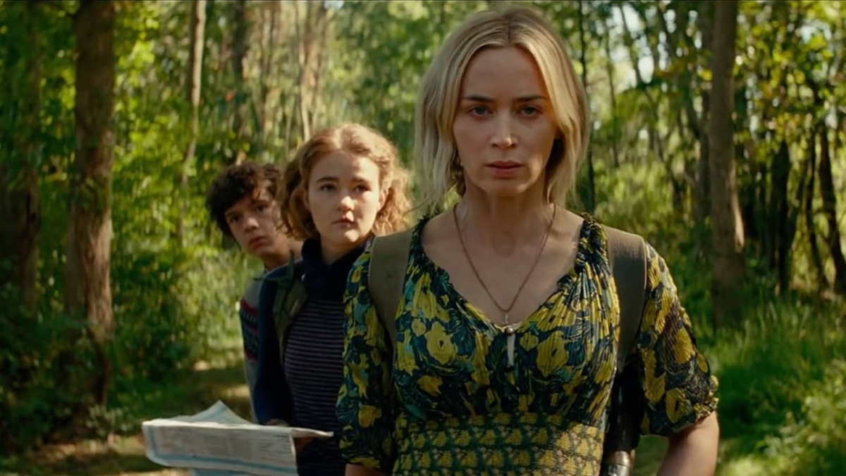 A Quiet Place Part II (2020) is directed by John Krasinski and stars Emily Blunt, Millicent Simmonds, and Noah Jupe.